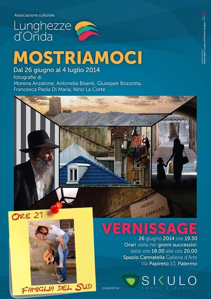 """""""Mostriamoci"""", mostra fotografica collettiva a Palermo (Serena Marotta)"""