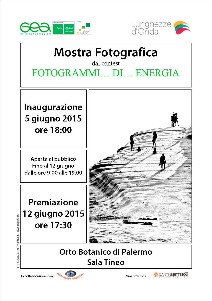 Mostra fotografica contest – Fotogrammi di Energia